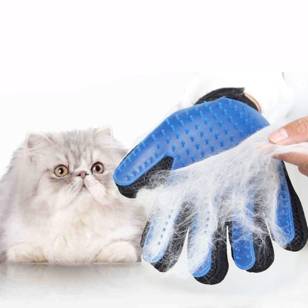 rokavica za česanje mačk