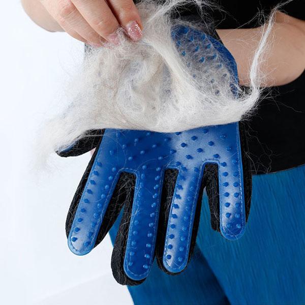 rokavica za česanje dlak