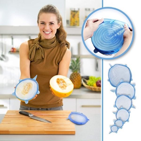 silikonski pokrovi za posodo