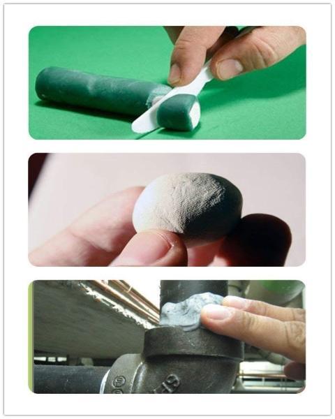 uporaba dvokomponentnega lepila