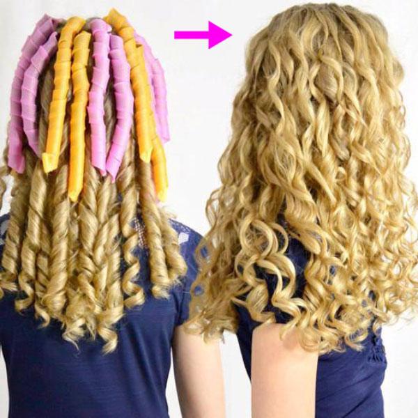spiralne navijalke za lase